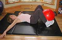 oblique abs exercise step 1