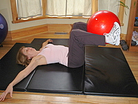 oblique abs exercise step 2